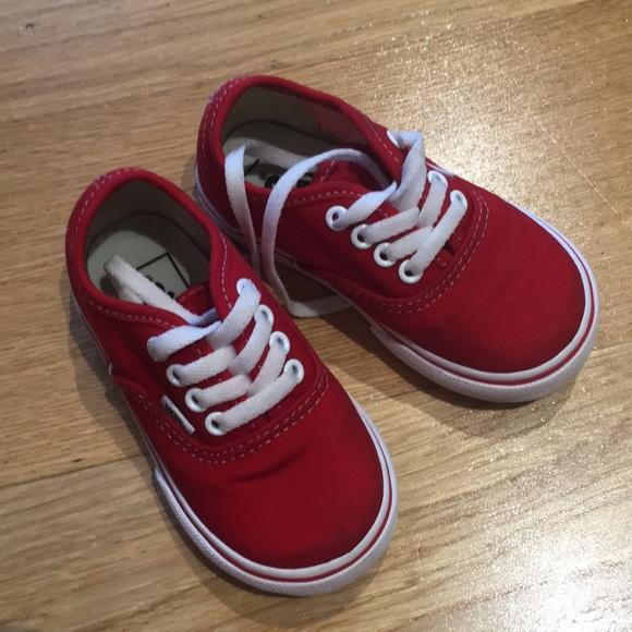 Vans Authentic Skate Shoe. Size 6 toddler